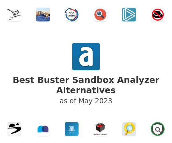 Best Buster Sandbox Analyzer Alternatives