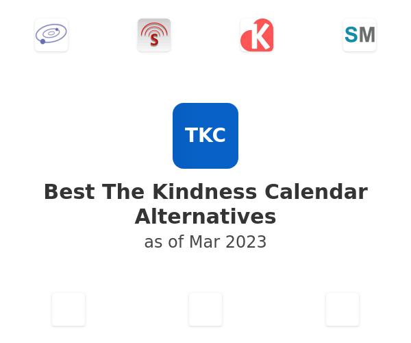 Best The Kindness Calendar Alternatives