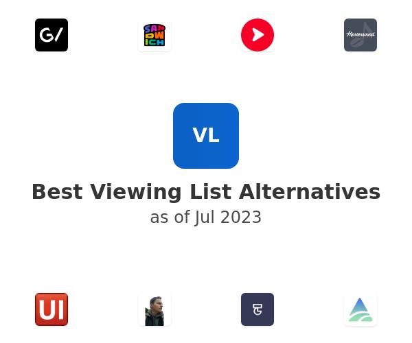 Best Viewing List Alternatives