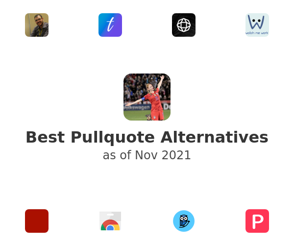Best Pullquote Alternatives