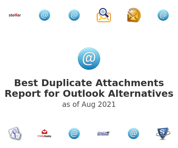 Best Duplicate Attachments Report for Outlook Alternatives