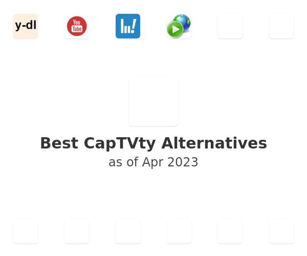 Best CapTVty Alternatives