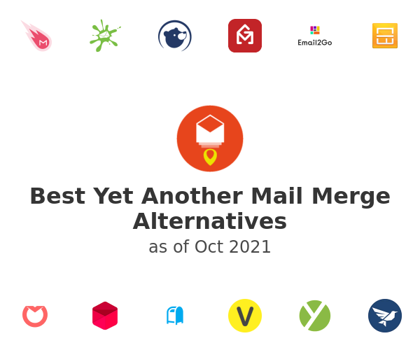 Best Yet Another Mail Merge Alternatives