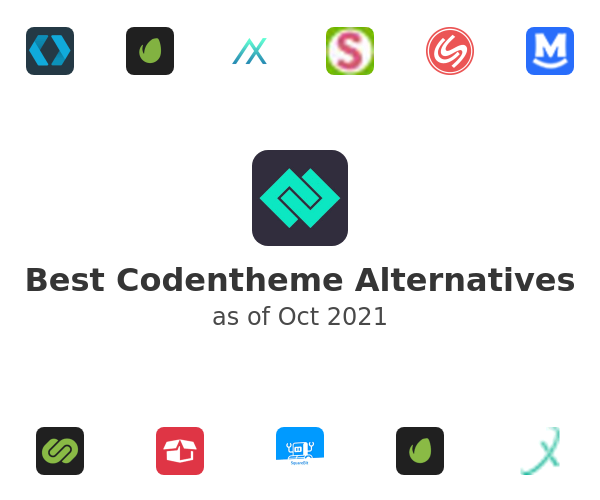 Best Codentheme Alternatives