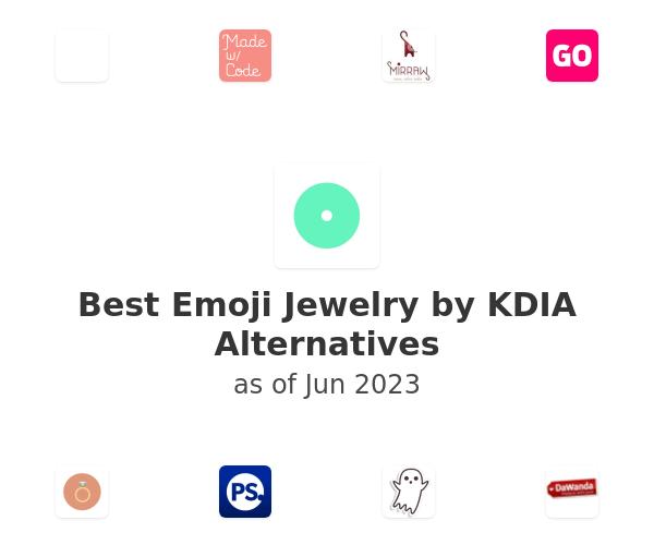 Best Emoji Jewelry by KDIA Alternatives