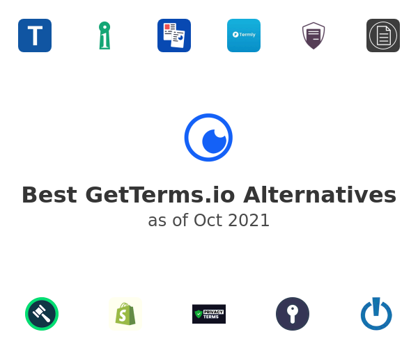 Best GetTerms.io Alternatives