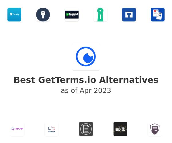 Best GetTerms.io Alternatives