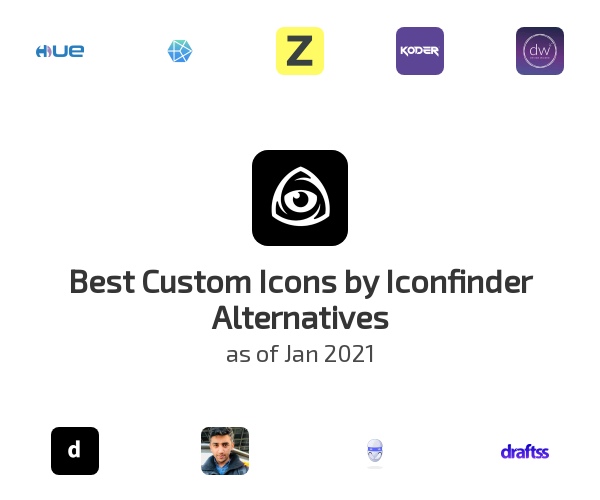 Best Custom Icons by Iconfinder Alternatives