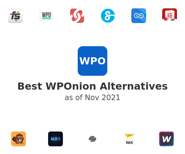 Best WPOnion Alternatives