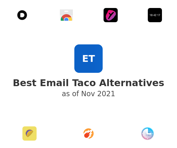 Best Email Taco Alternatives