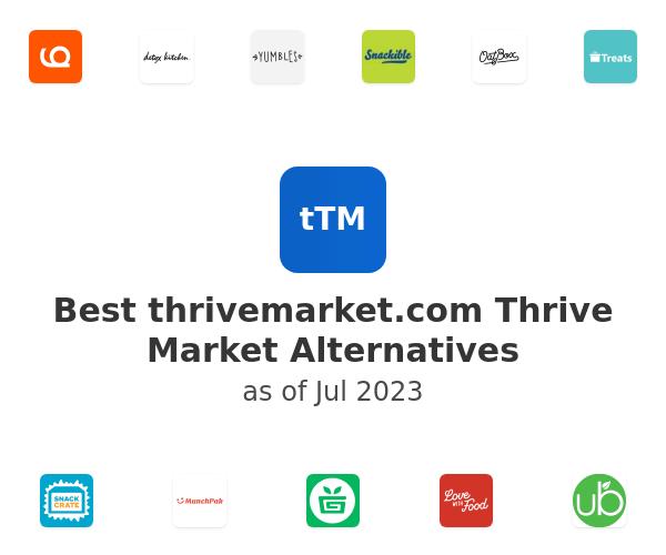 Best Thrive Market Alternatives