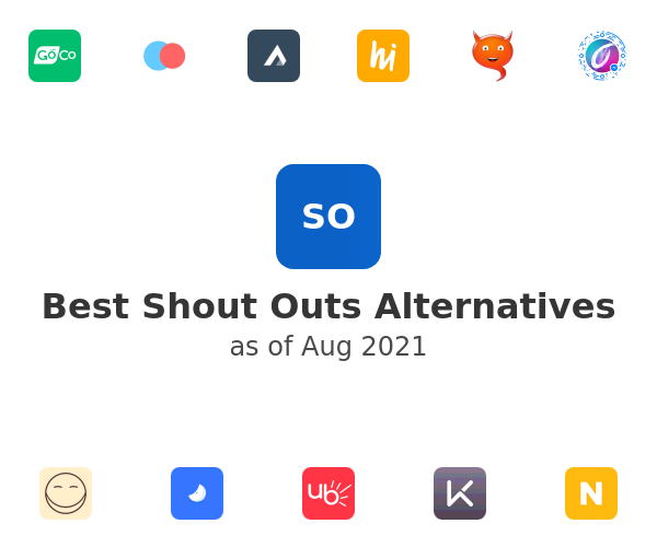 Best Shout Outs Alternatives