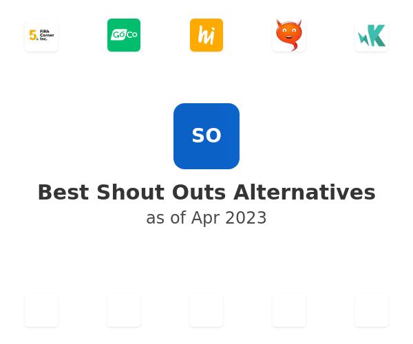 Best Shout Outs Alternatives