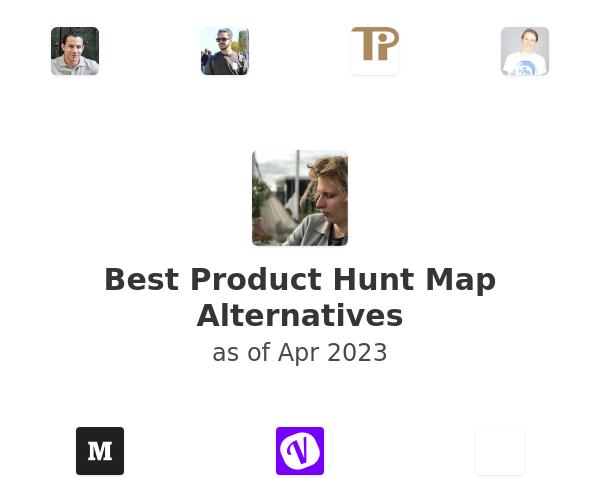 Best Product Hunt Map Alternatives