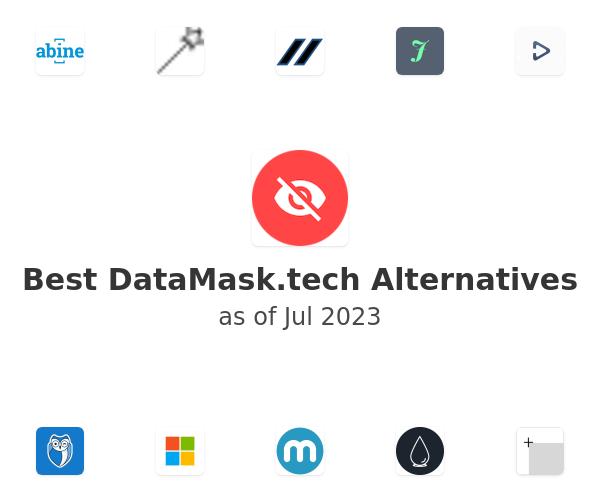 Best DataMask.tech Alternatives