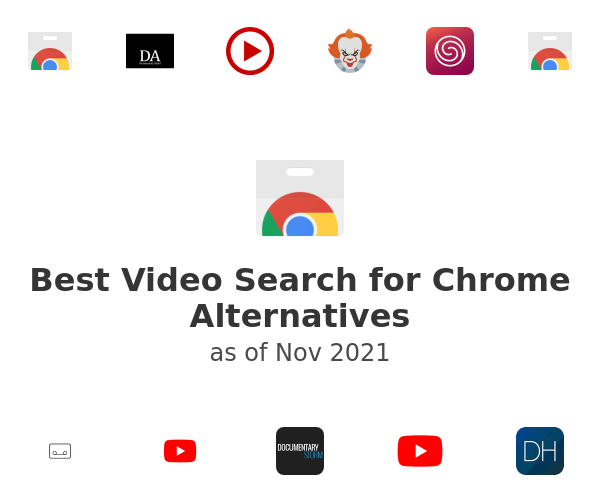 Best Video Search for Chrome Alternatives