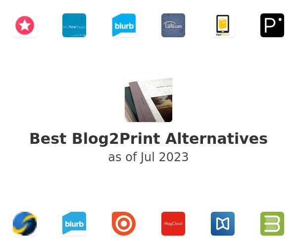 Best Blog2Print Alternatives