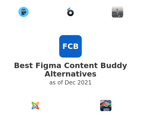 Best Figma Content Buddy Alternatives