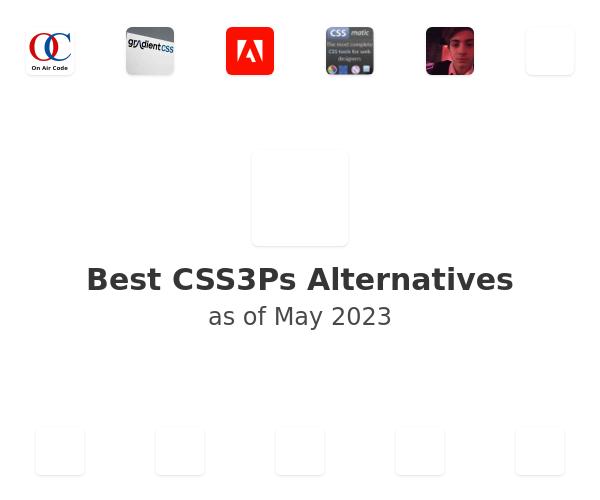 Best CSS3Ps Alternatives