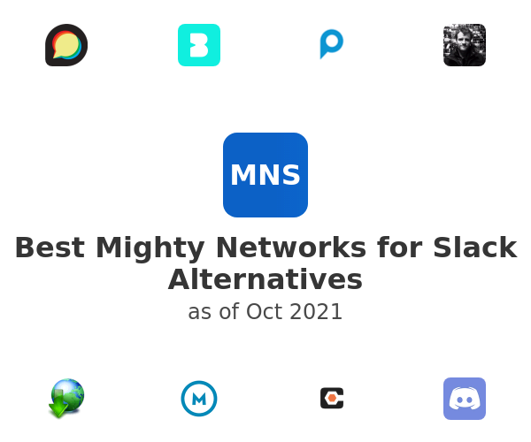 Best Mighty Networks for Slack Alternatives