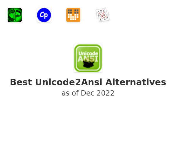Best Unicode2Ansi Alternatives