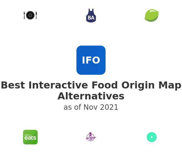 Best Interactive Food Origin Map Alternatives