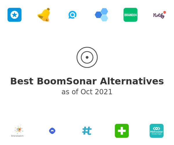 Best BoomSonar Alternatives