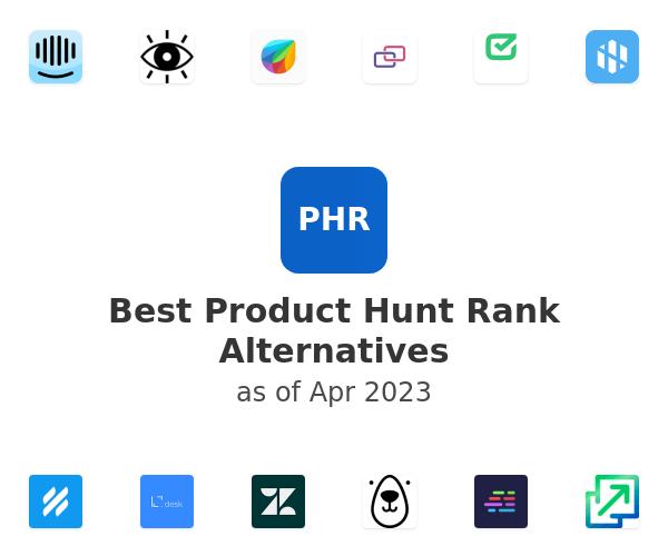 Best Product Hunt Rank Alternatives