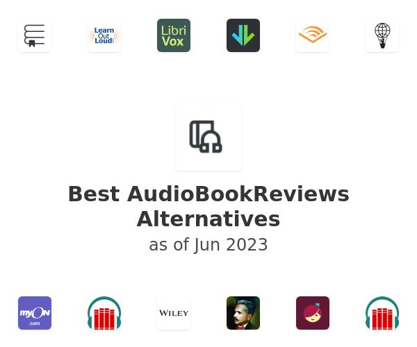 Best AudioBookReviews Alternatives