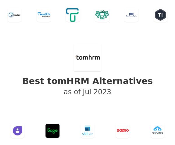 Best tomHRM Alternatives