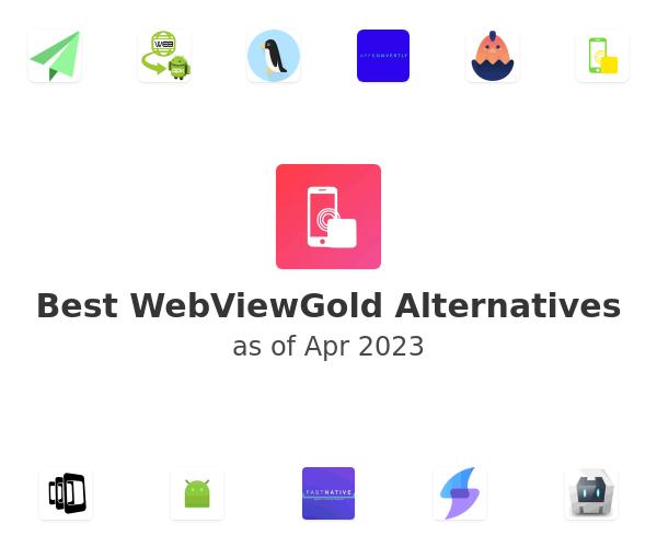 Best WebViewGold Alternatives