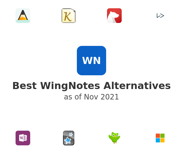 Best WingNotes Alternatives