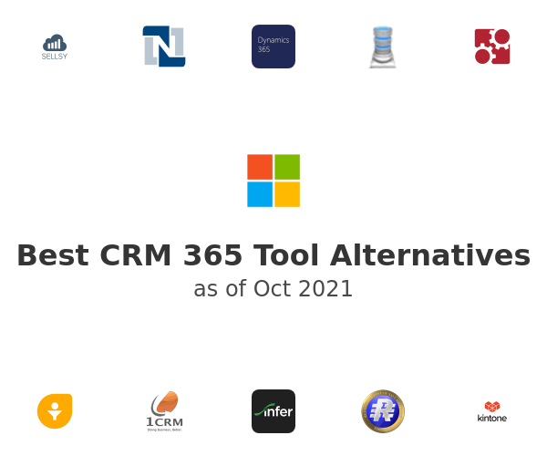 Best CRM 365 Tool Alternatives
