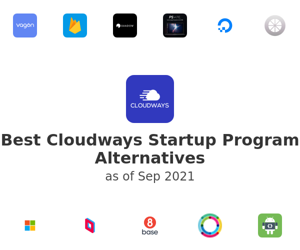 Best Cloudways Startup Program Alternatives