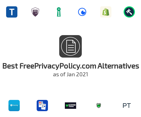 Best FreePrivacyPolicy.com Alternatives