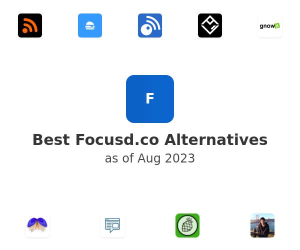 Best Focusd Alternatives