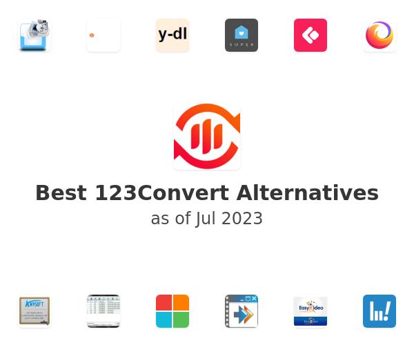 Best 123Convert Alternatives