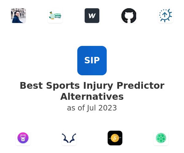 Best Sports Injury Predictor Alternatives