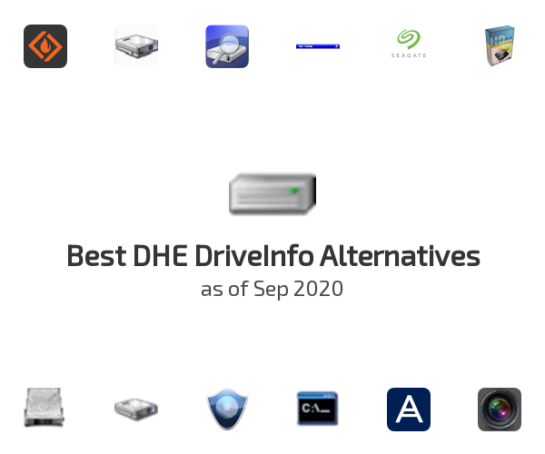Best DHE DriveInfo Alternatives