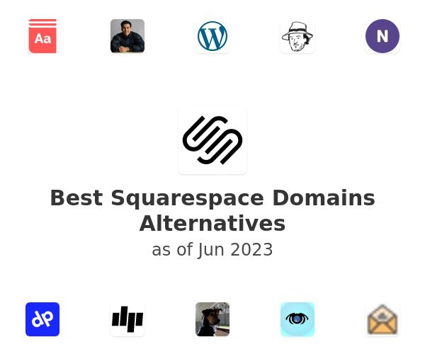Best Squarespace Domains Alternatives