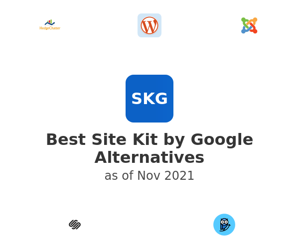 Best Site Kit by Google Alternatives