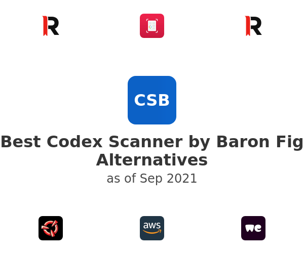 Best Codex Scanner by Baron Fig Alternatives