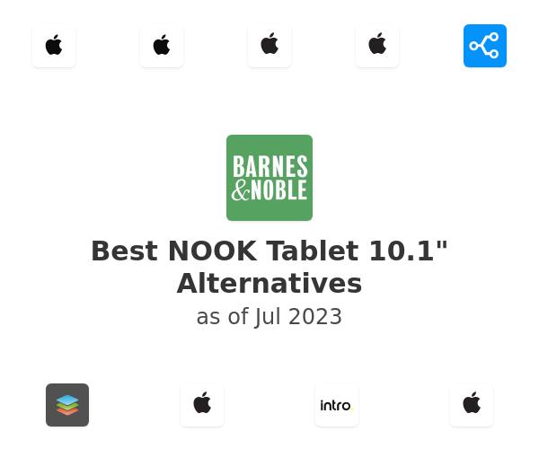 "Best NOOK Tablet 10.1"" Alternatives"
