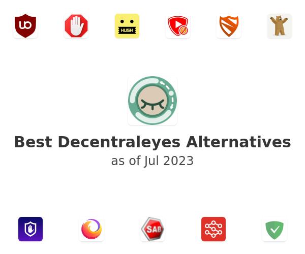Best Decentraleyes Alternatives