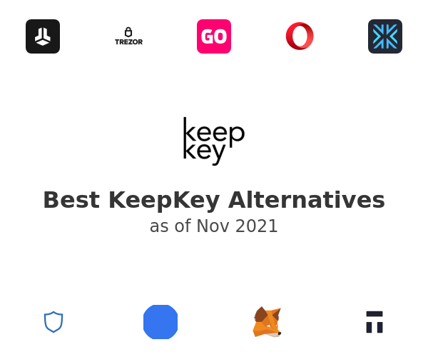 Best KeepKey Alternatives