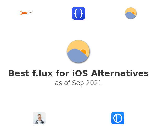 Best f.lux for iOS Alternatives