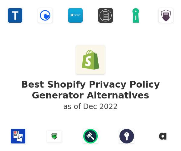 Best Shopify Privacy Policy Generator Alternatives