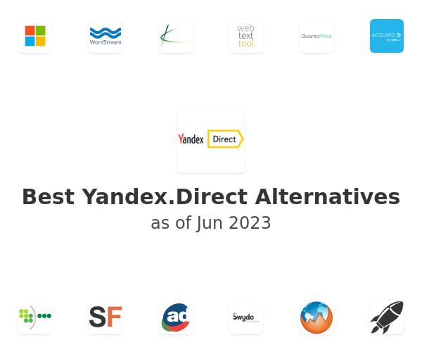 Best Yandex.Direct Alternatives