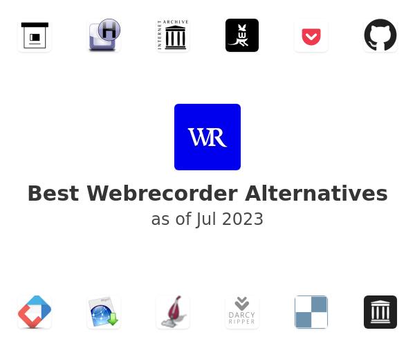 Best Webrecorder Alternatives