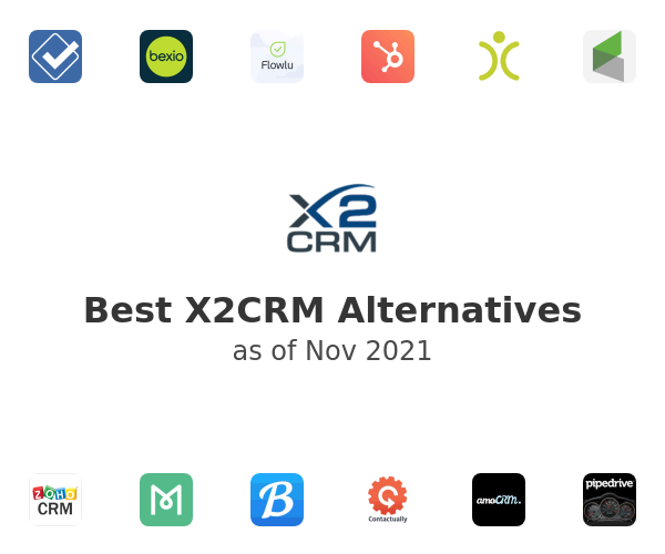 Best X2CRM Alternatives